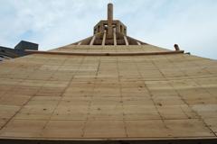 銭塚地蔵堂再建工事