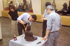 文化庁文化財課仏像調査