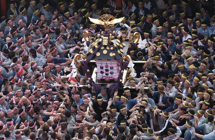 「三社祭 宮入」の画像検索結果
