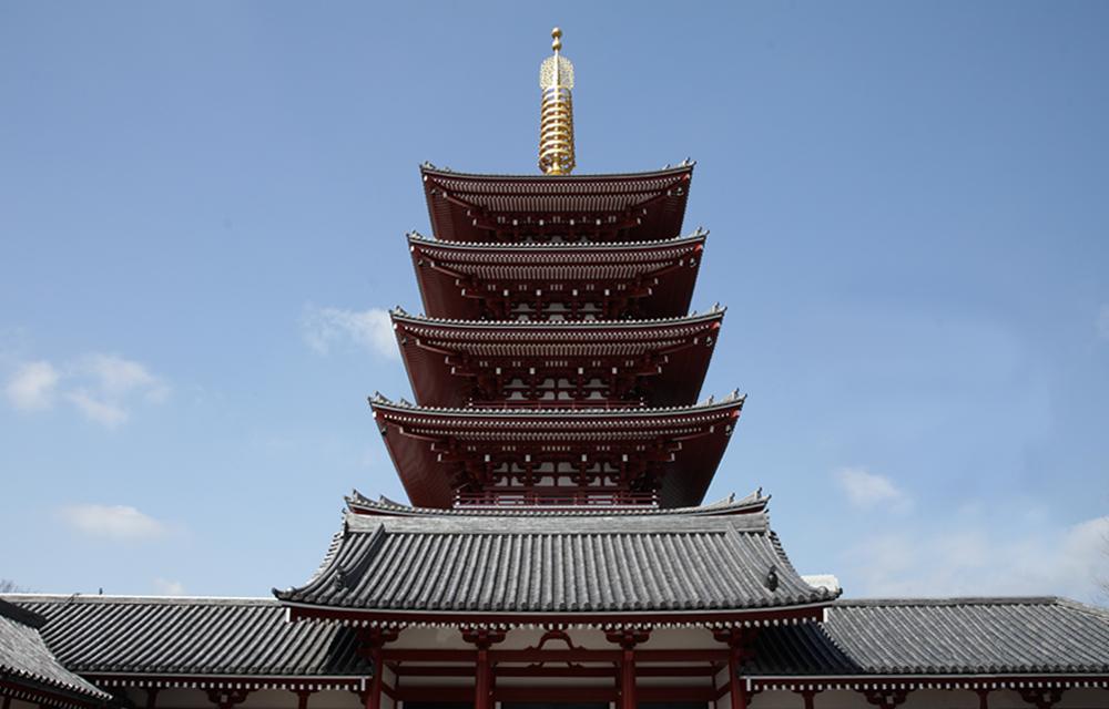 写真:五重塔
