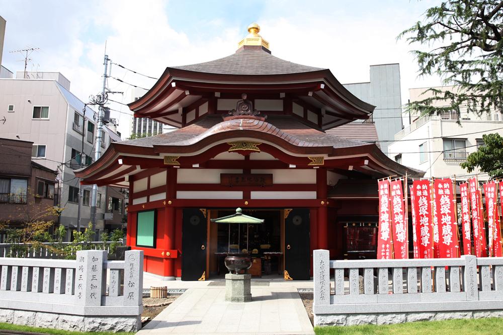 写真:銭塚地蔵堂
