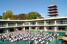 写真:浅草寺幼稚園