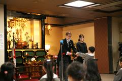 浅草寺幼稚園卒園式